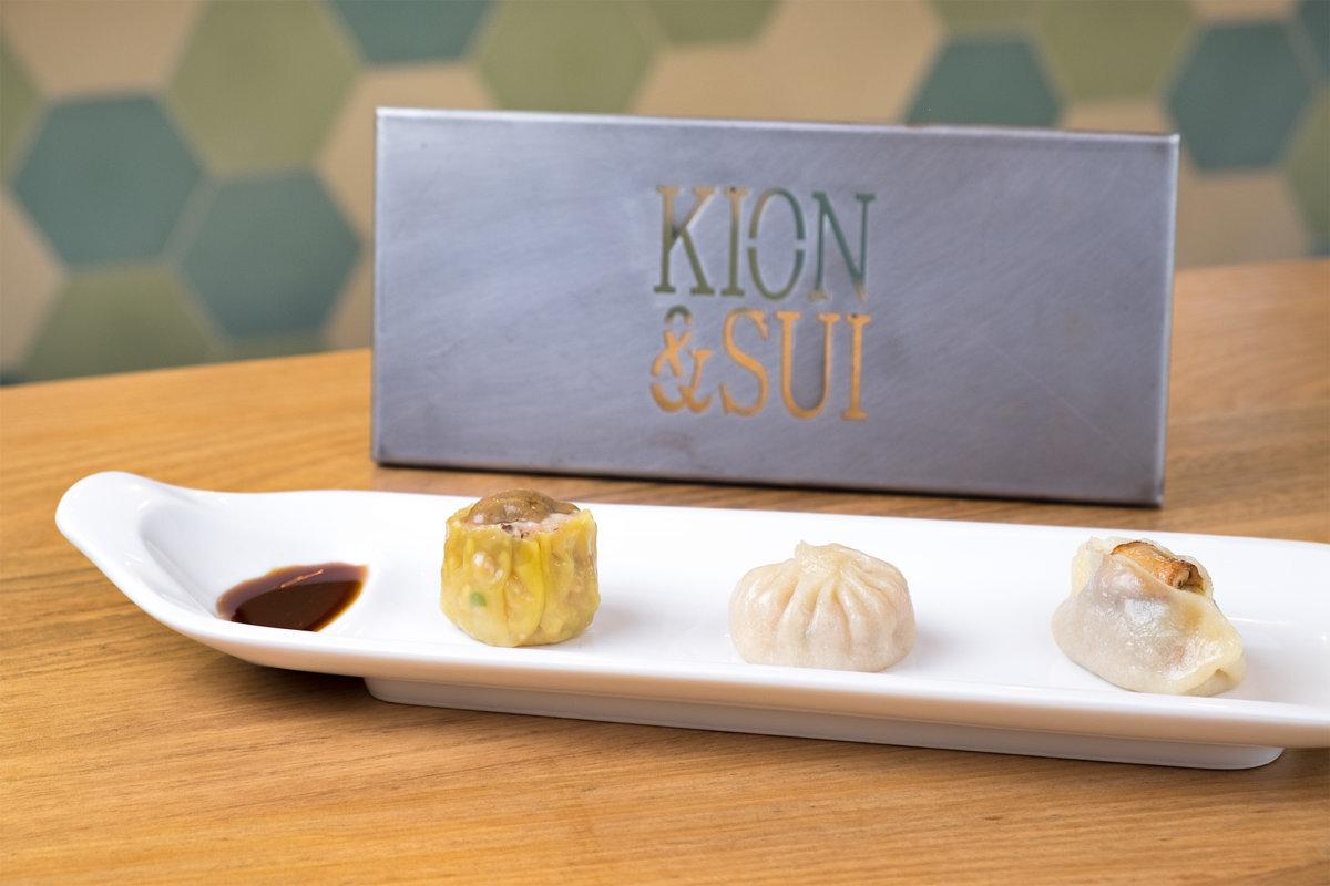 Restaurante Kion Sui_Shumai de pollo, xiaolongbao, kao de pato